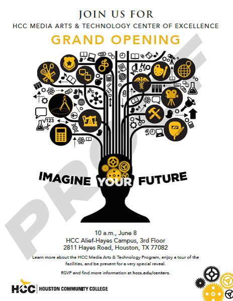 Center of Excellence in Media Arts Grand Opening-HCC Alief Hayes : Houston Community College ...