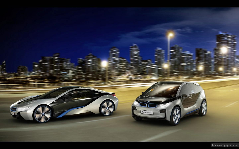 2012 Bmw I8 Amp I3 Concept Cars 3 Wallpaper Hd Car