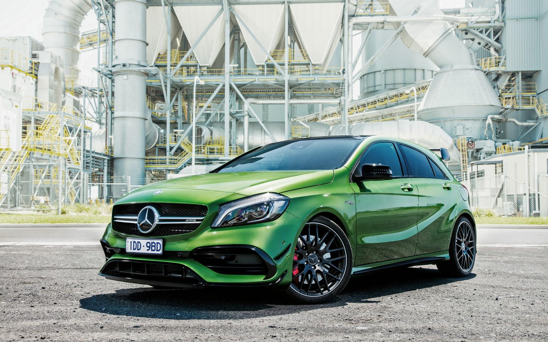2016 Mercedes Benz A Class A45 Amg 4matic Wallpaper Hd