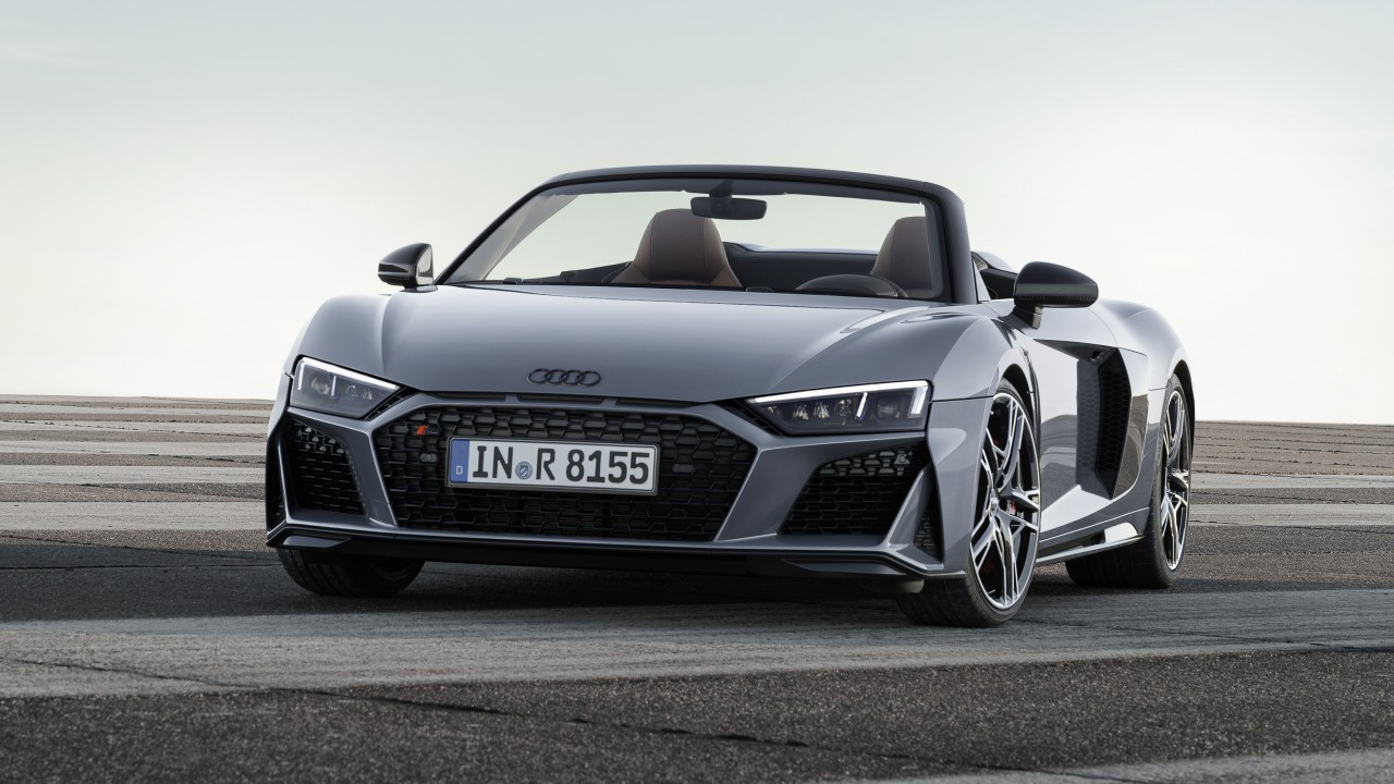 Audi R8 Spyder V10 2019 4k Wallpaper Hd Car Wallpapers