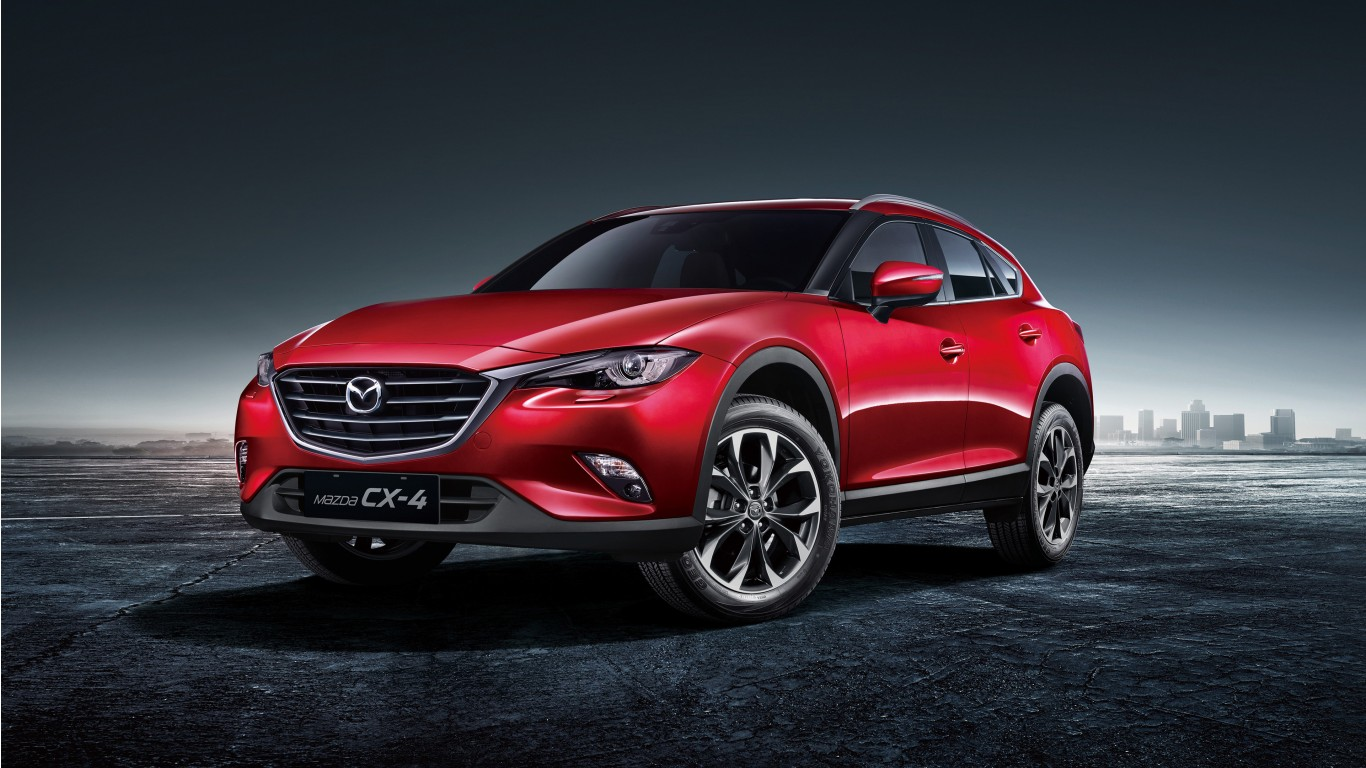 Mazda Cx 4 2017 Wallpaper Hd Car Wallpapers Id 6510