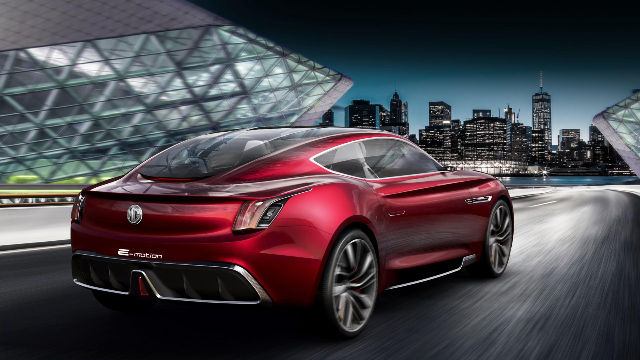 Mg E Motion Concept Car 4 Wallpaper Hd Car Wallpapers