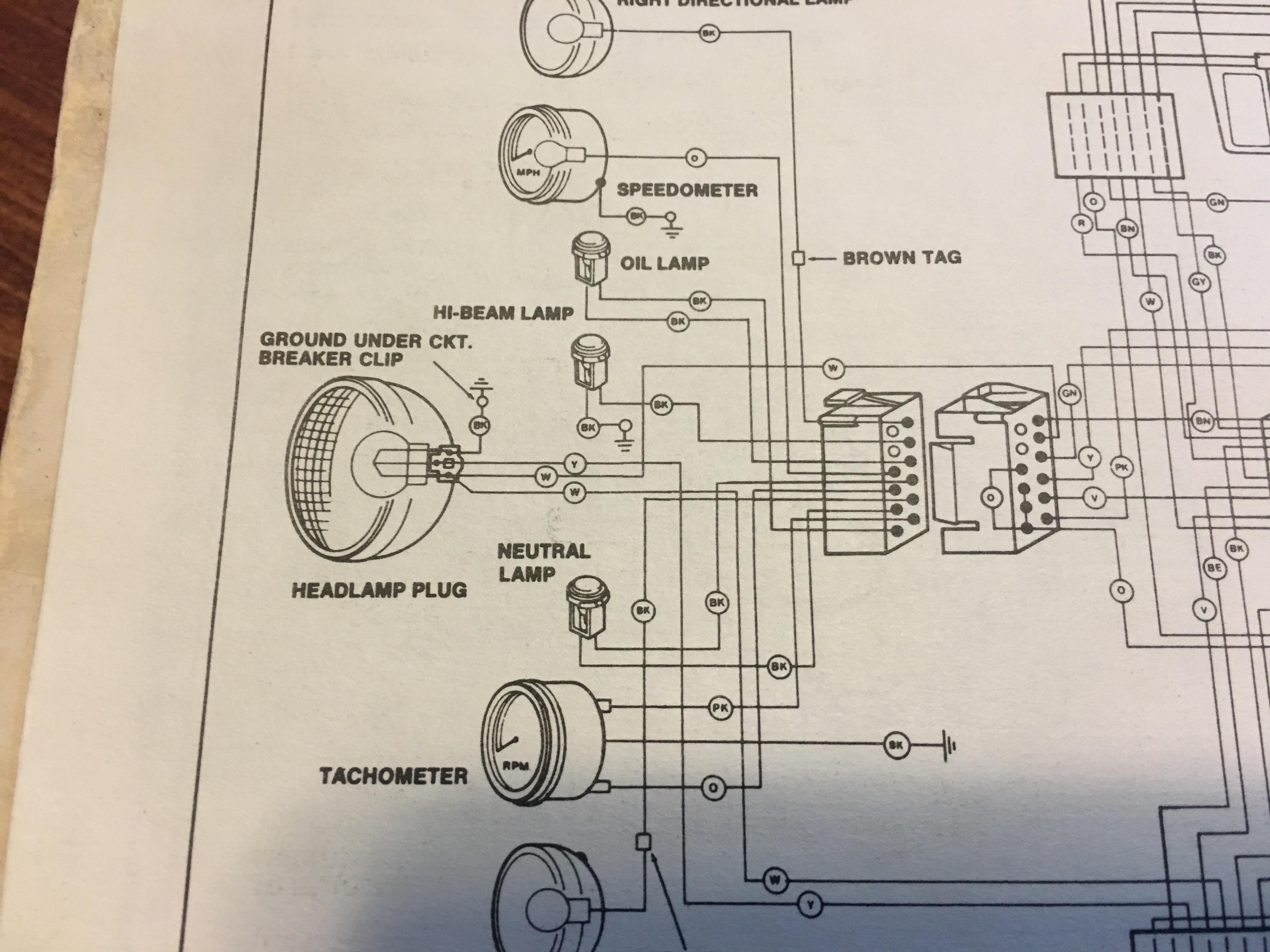 1990 Harley Fxrs Wiring Diagram