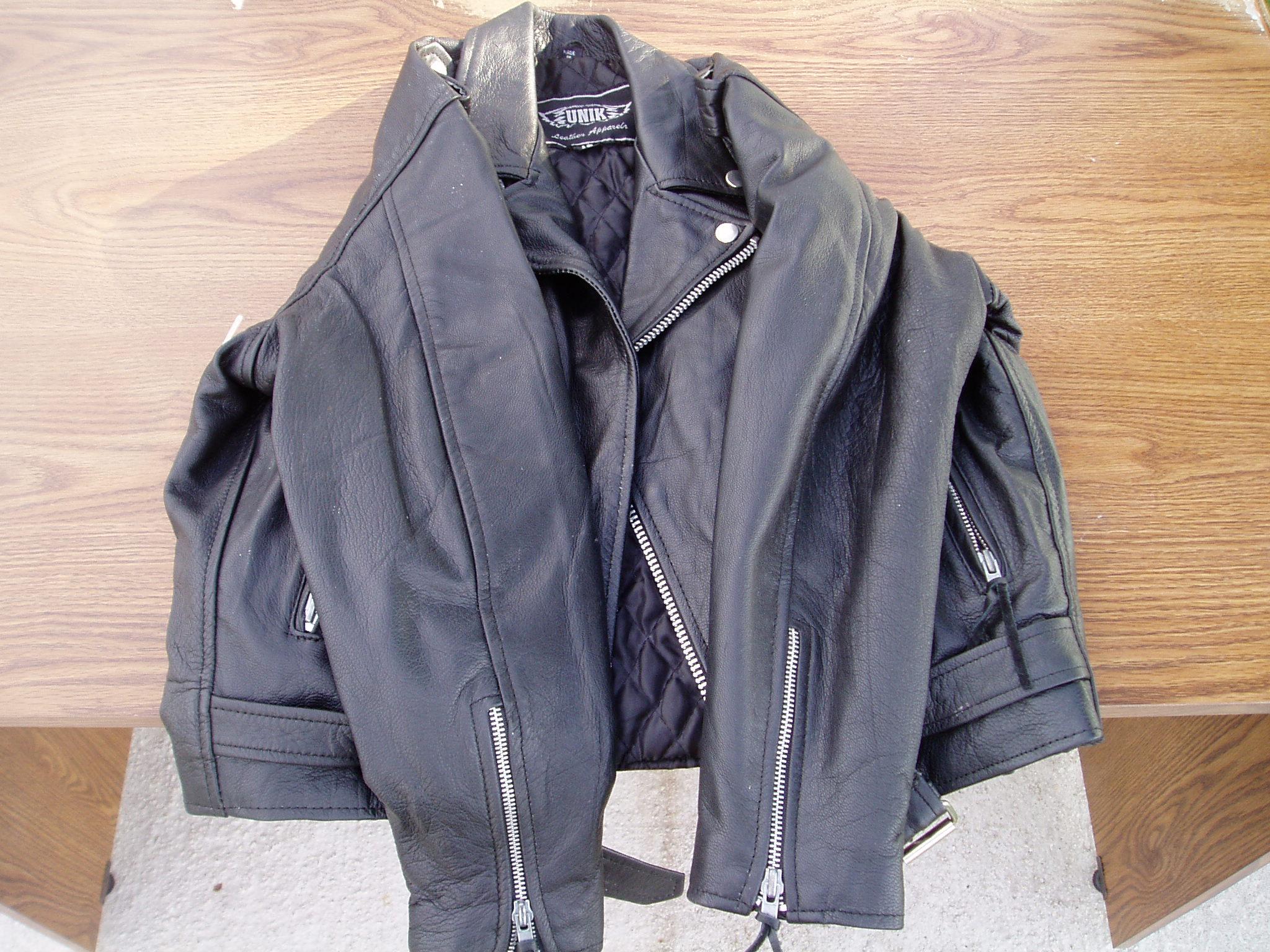 Kids Unik Leather Jacket - Harley Davidson Forums