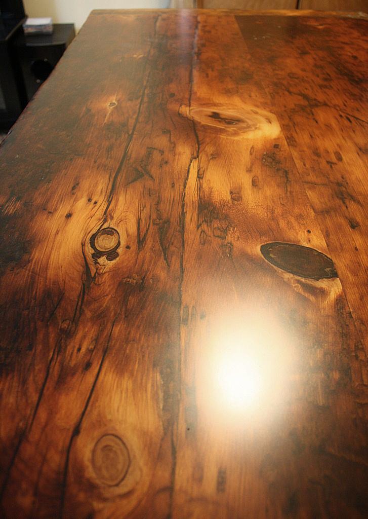 Reclaimed Wood Furniture Premium Epoxy Hd Threshing