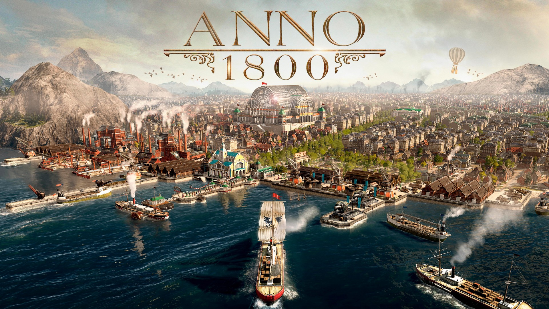 Anno 1800 2019 Game 4k 8k Wallpapers Hd Wallpapers Id