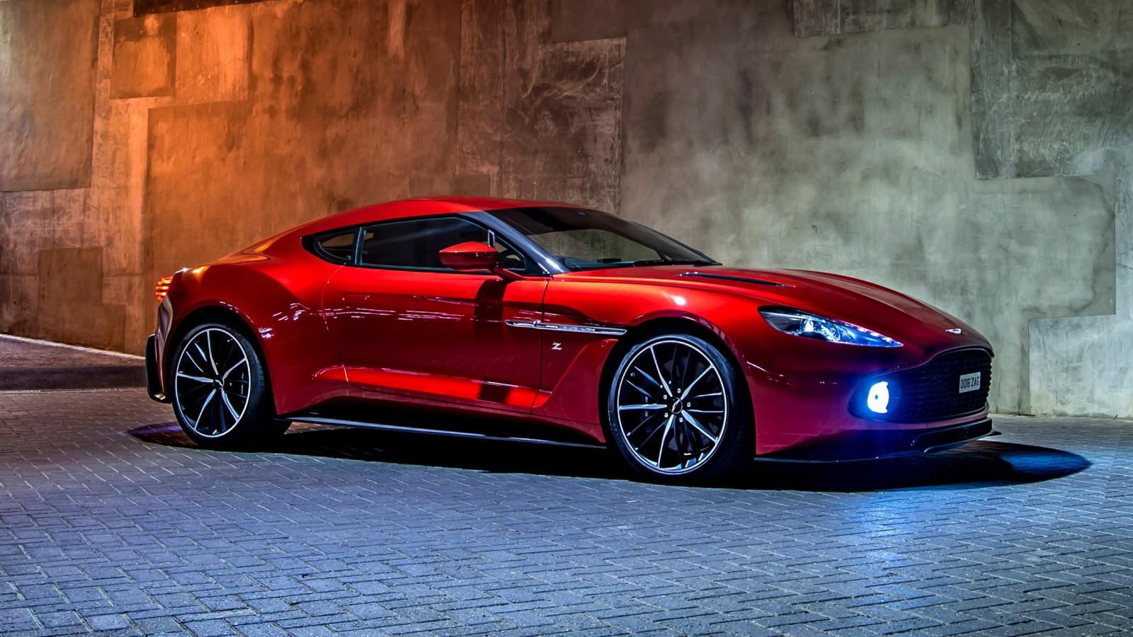 Aston Martin Vanquish Zagato Wallpapers Hd Wallpapers