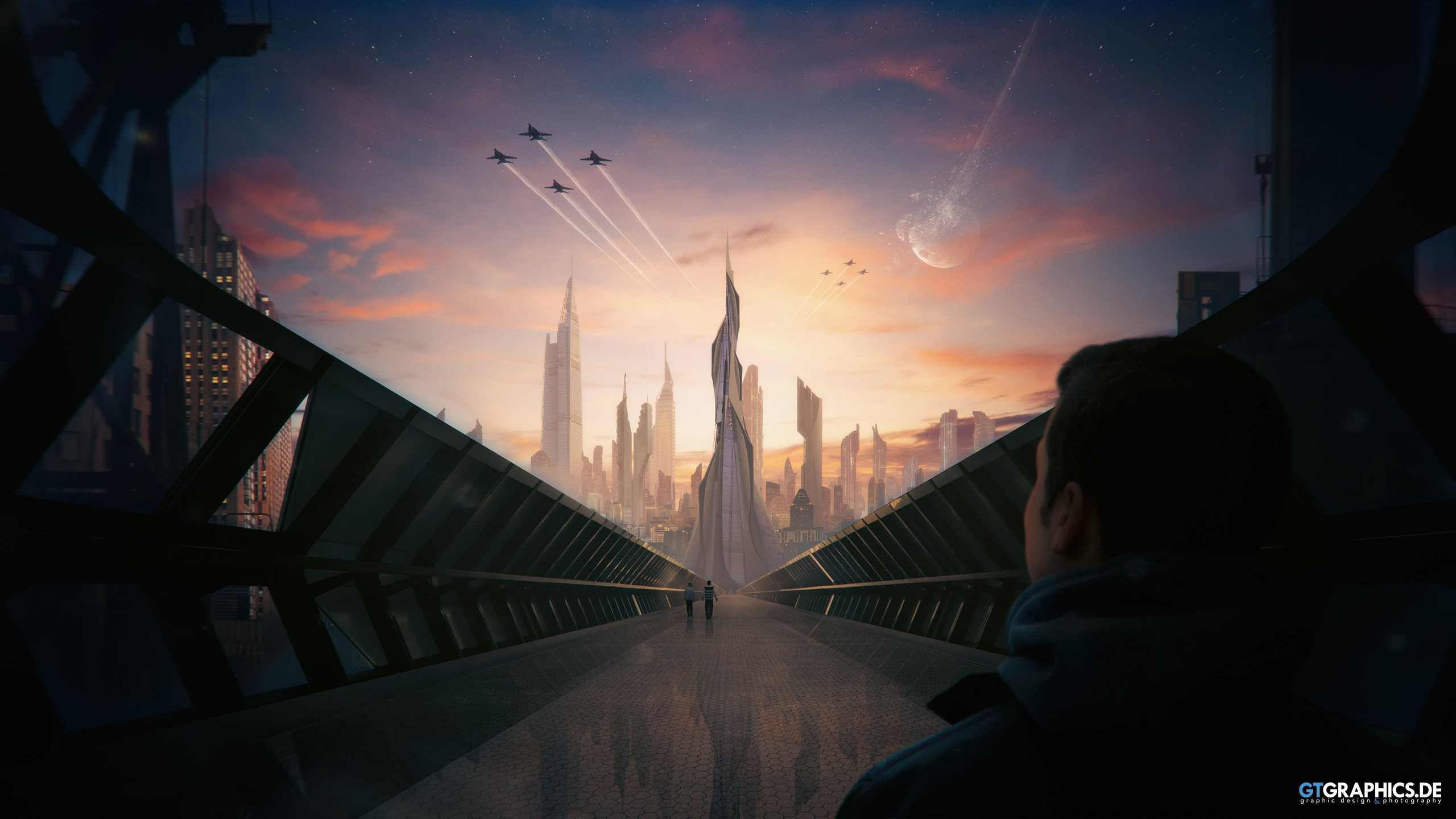 Futuristic City Concept Wallpapers Hd Wallpapers Id 19458