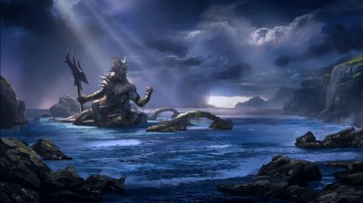 God of War Ascension Poseidon Wallpapers | HD Wallpapers ...