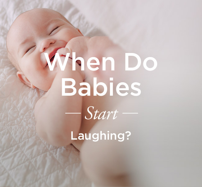 When Should My Baby Start Laughing