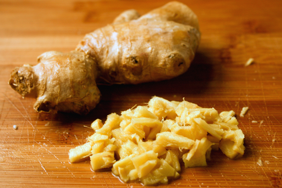 What Fresh Ginger Used