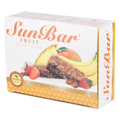 SunBar® Fruit 10 Bars (1.06 oz./30 g each bar)