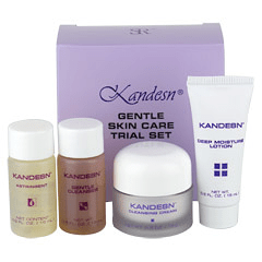 Kandesn® Gentle Skin Care Trial Set by Sunrider® (0.5 fl. oz./15 mL each bottle)