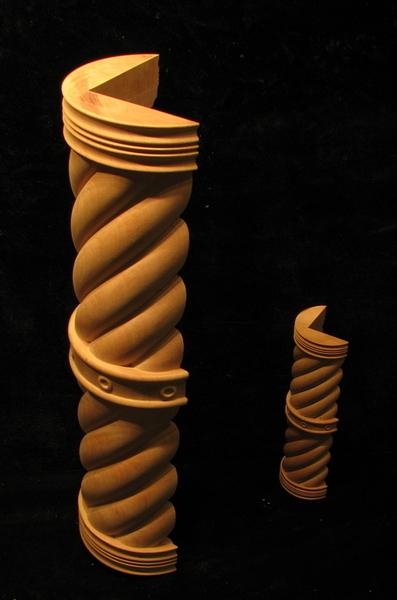 Spiral 3 4 Column Set Columns Legs Newel Posts And