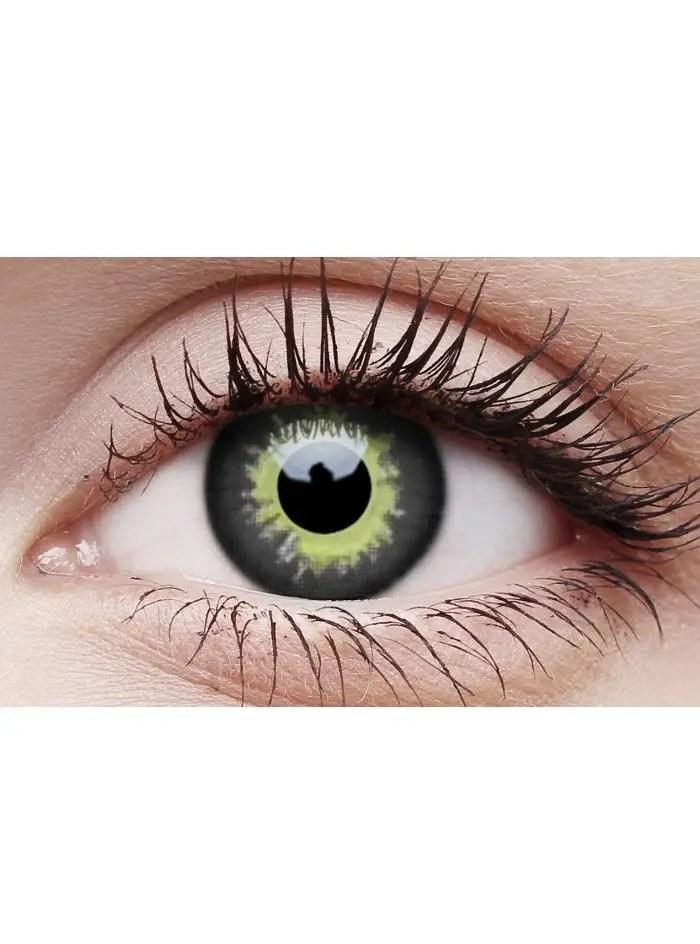 Eclipse Contact Lenses Yellow Eclipse Crazy Contact Lenses