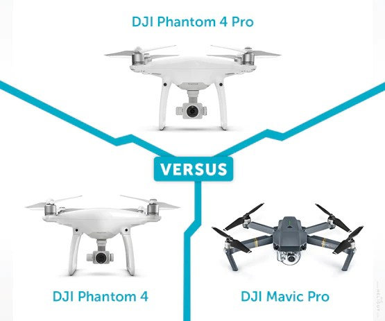 Pro Vs Standard Drone 3 Dji Phantom