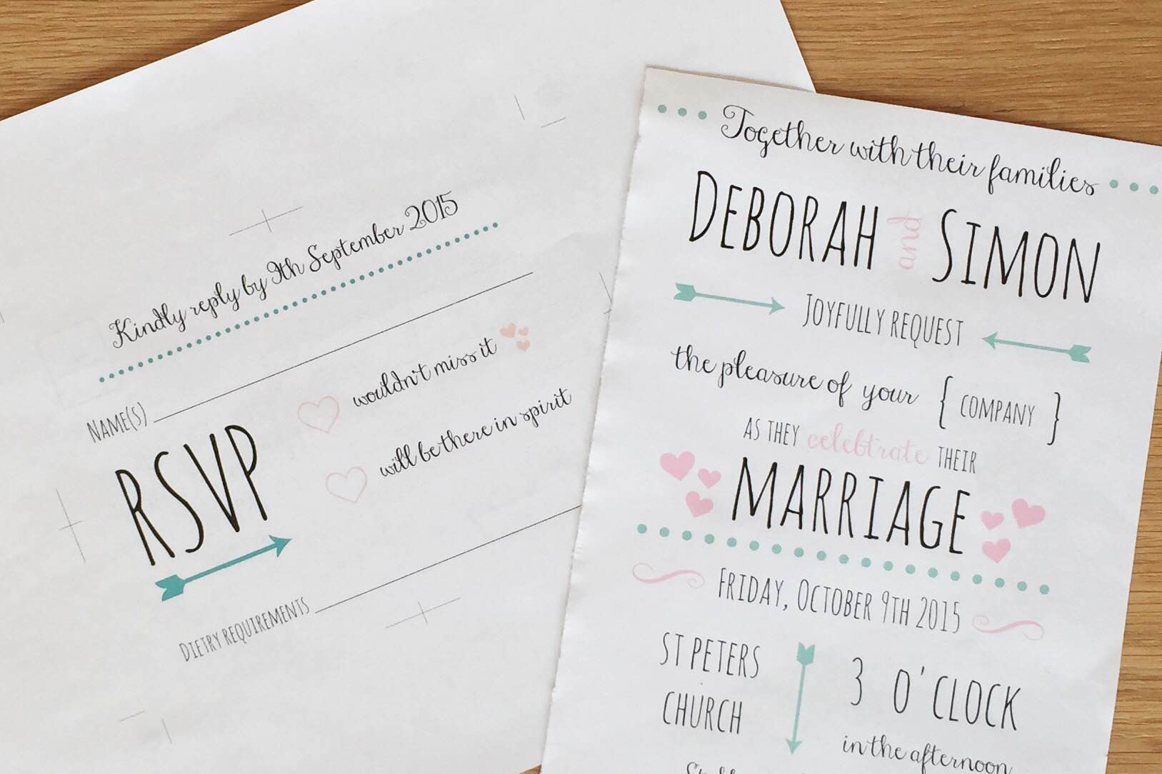 Cheap Wedding Invitations Tesco