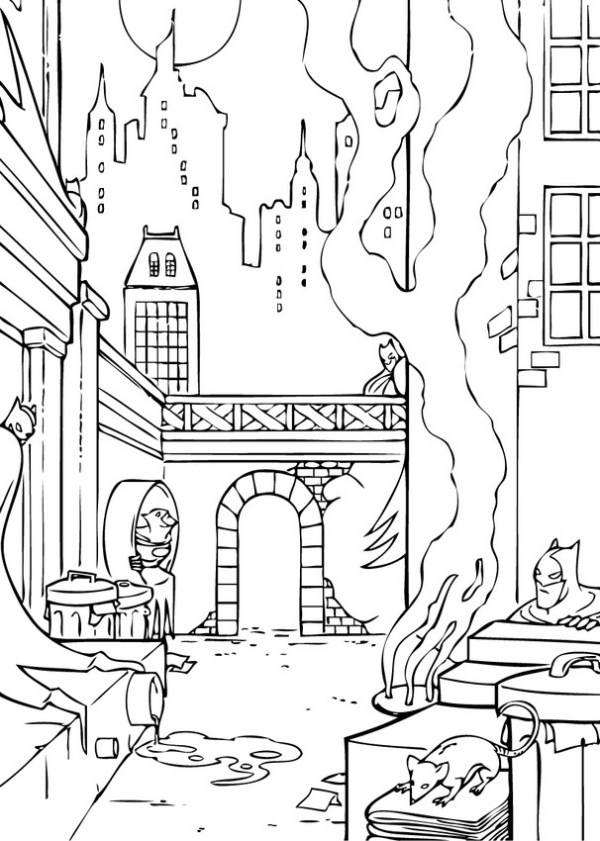 city coloring pages # 22