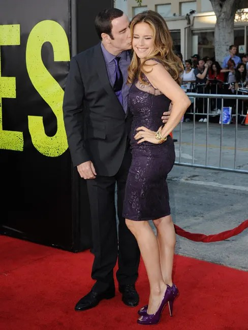 John Travolta And Kelly Preston Put On Show Of Unity At