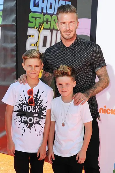 David Beckham talks Harper and embarrassing his four ...