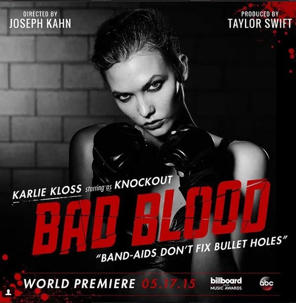 Taylor Swift Bad Blood Cast