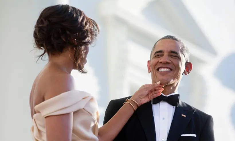 Michelle Obama's sweet greeting for Barack on his 55th ...