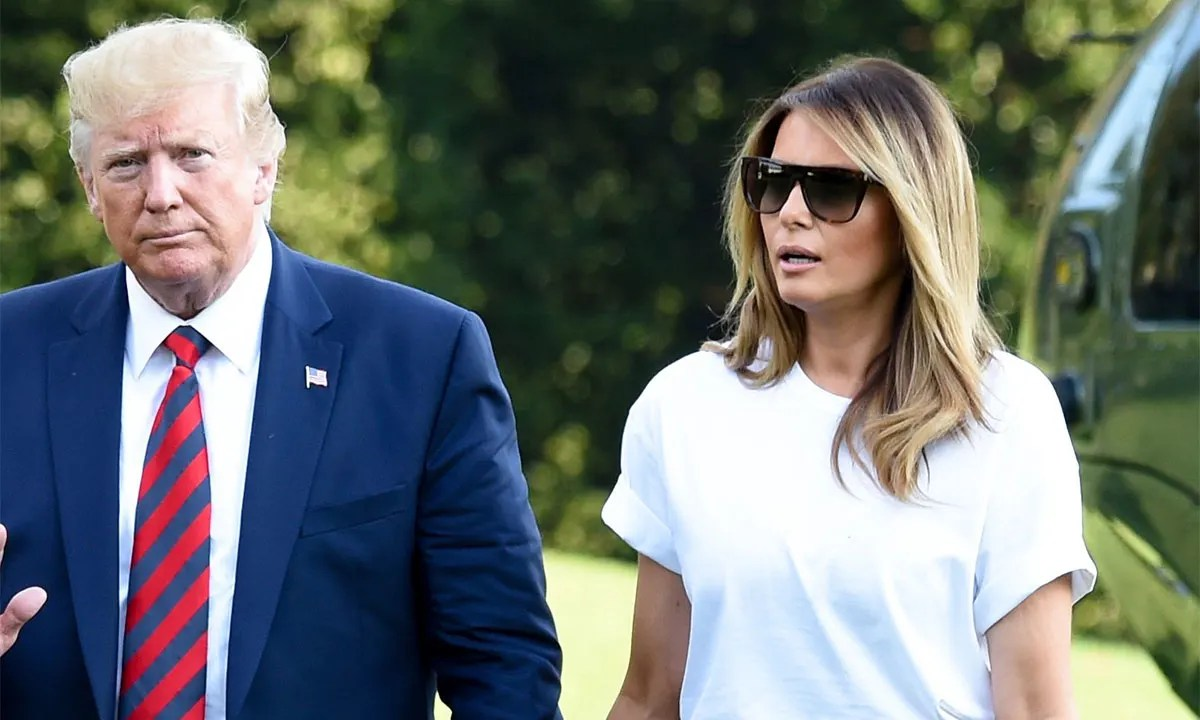 Melania Trump just wore sky high Christian Louboutins to ...