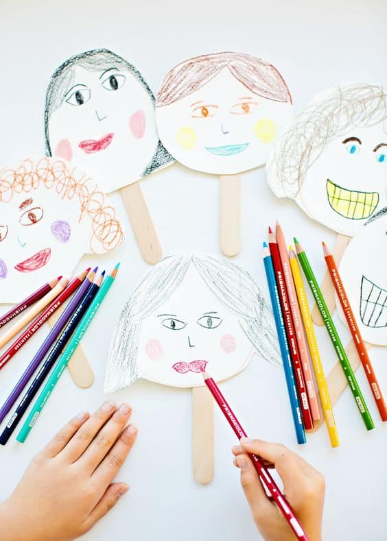 Family Portrait Preschoolers
