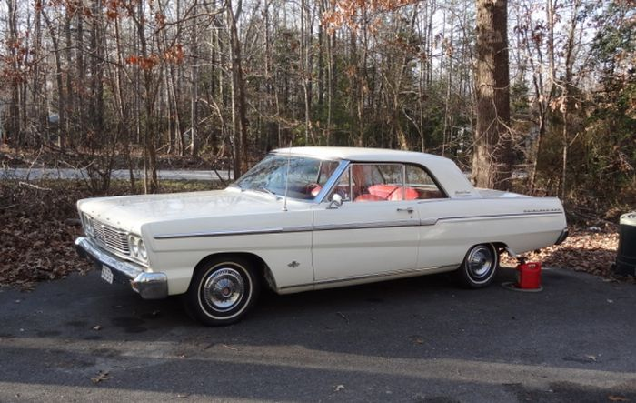 Hemmings Find of the Day     1965 Ford Fairlane 500 Sp   Hemmings Daily This car has the center console and is an automatic with bucket seats  All  original carpet and floor mats still in the car