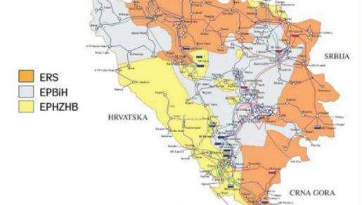 I I Hercegovine Hrvatske Bosne Karta