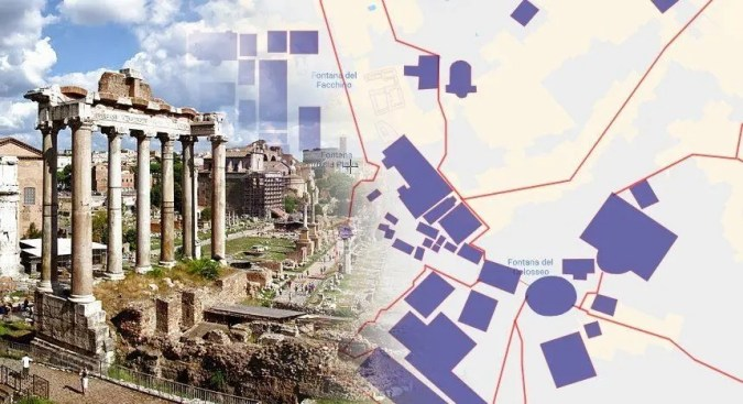 Ancient Rome   Interactive Map   HeritageDaily   Archaeology News Ancient Rome     Interactive Map