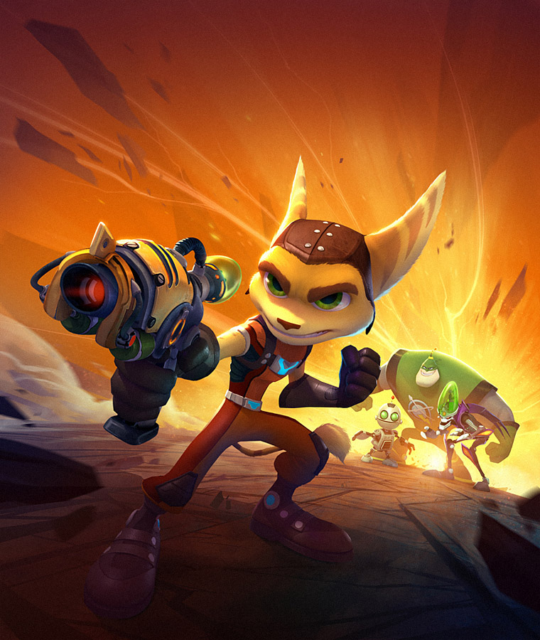 Ratchet And Render Clank