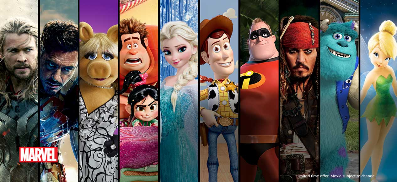 Disney Launch Movie Streaming Service, Disney Movies Anywhere