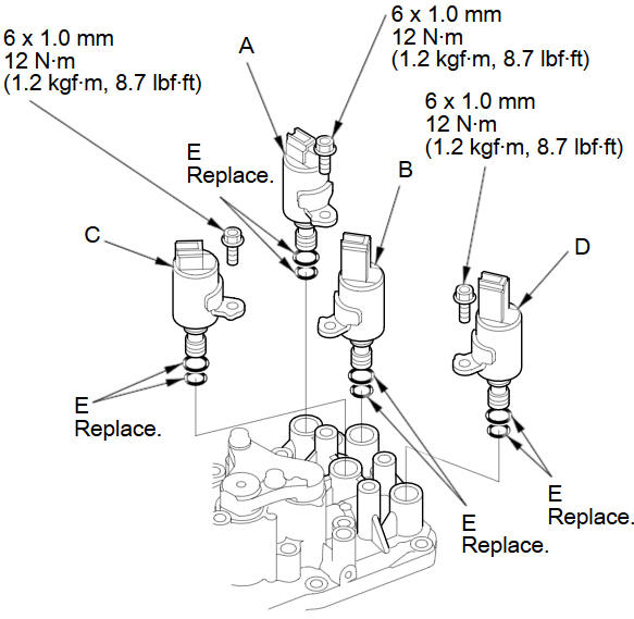 [Repair Manual Transmission Shift Solenoid 1990 Lexus Ls