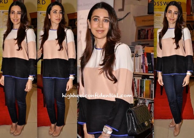Karisma Kapoor At Crossword For A Book Launch   High Heel Confidential Karisma Kapoor At Crossword For A Book Launch