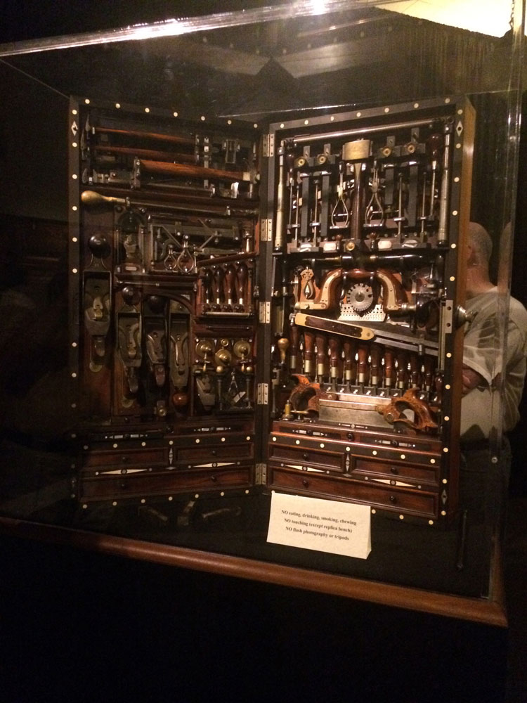 Photo Album Studley Tool Chest Exhibit