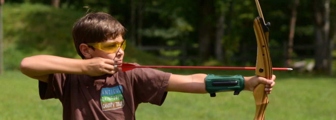Archery Camp High Rocks Boys Summer Camps