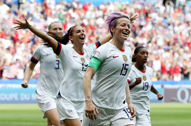 U.S. women's soccer team win 2019 World Cup over the ...