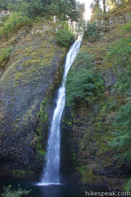 Map Waterfalls Oregon
