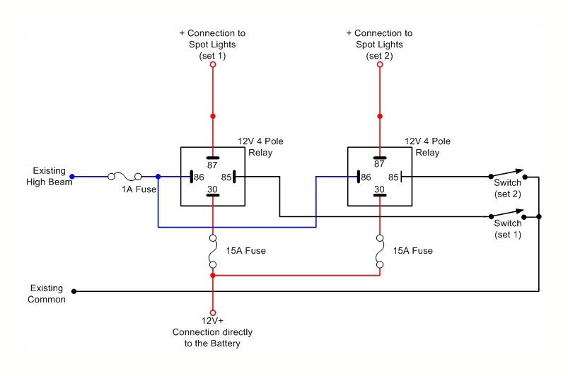 Kc Light Relay Wiring Diagram