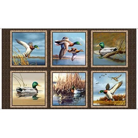 Duck Lake 24770 X Panel Quilting Treasures Hingeley