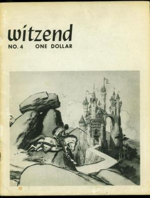 Browse Products in Comic Collectibles   Fan Clubs   Zines   HipComic Witzend  4 1967  Wally Wood Pro fanzine  Ditko  Frazetta  Grass Green