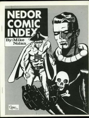 Browse Products in Comic Collectibles   Fan Clubs   Zines   HipComic Nedor Comic Index by Mike Nolan  Fanzine Black Terror Fighting Yank 1968