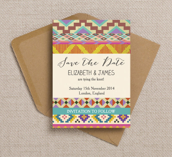 Print Your Own Save Date Cards