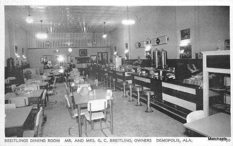 Breitlings Dining room DEMOPOLIS  ALABAMA Interior Globe 5974     Breitlings Dining room DEMOPOLIS  ALABAMA Interior Globe 5974