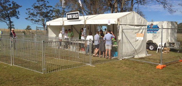 Event Security Fencing Hire