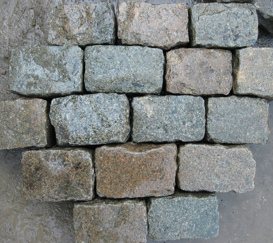 Antique Reclaimed Granite Cobblestone Antique Reclaimed