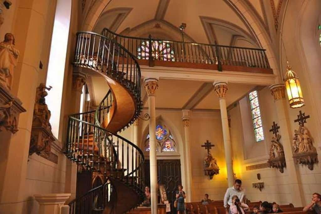 Loretto Chapel Staircase The Legend Of The Santa Fe Miracle | The Staircase Of Loretto Chapel | Original | Light | Weird | Stairway | Magical