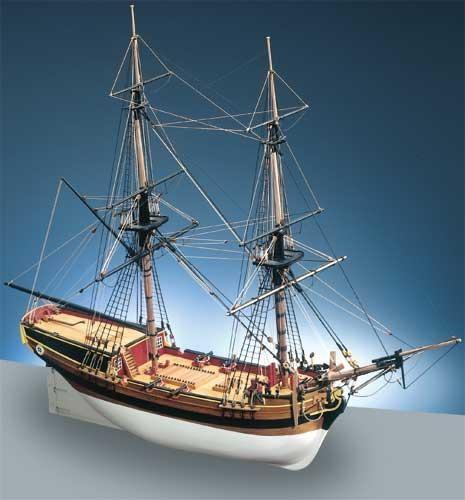 Hm Brig Supply Caldercraft Ship Kits Historic Ships