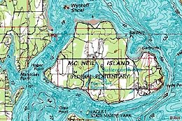 McNeil Island and the Federal Penitentiary, 1841-1981 ...